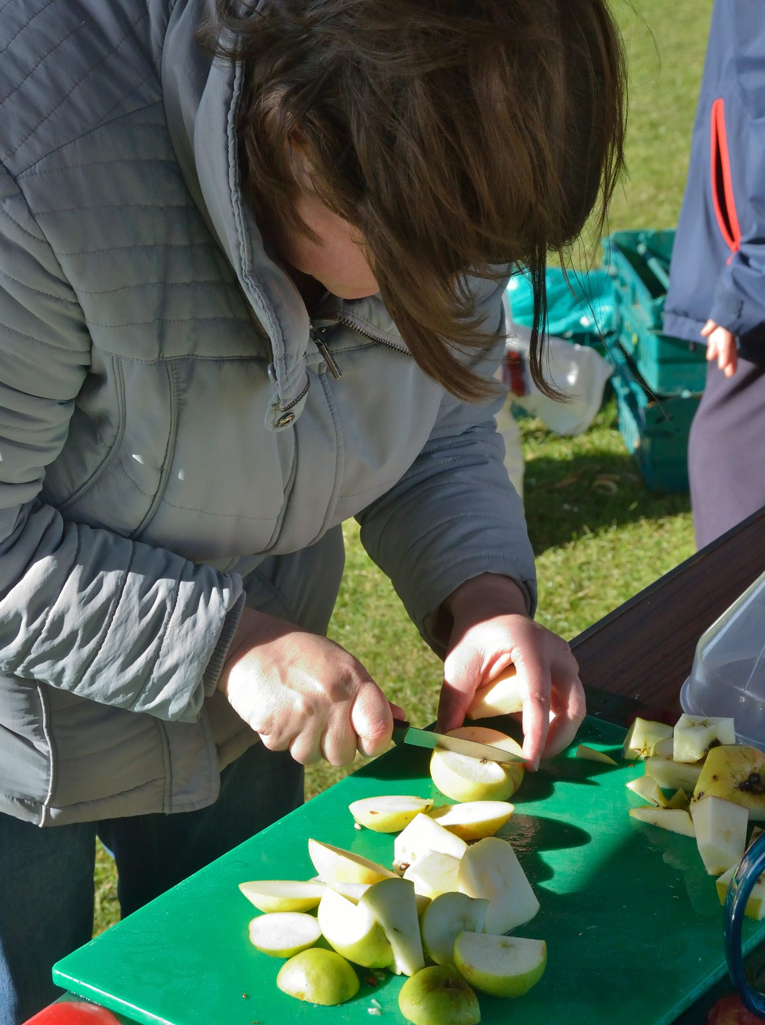 Fun at apple day